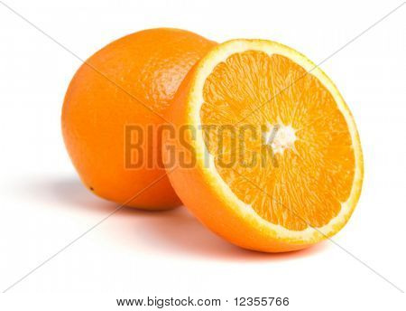 One and half oranges