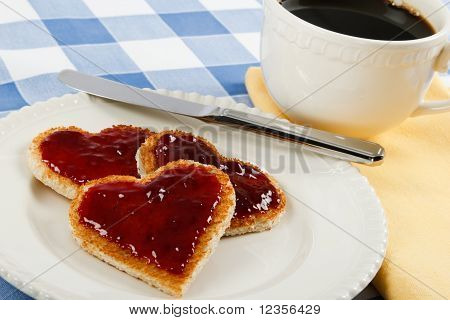 A Romantic Breakfast Treat