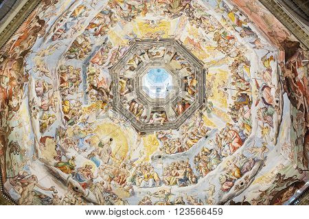 Interior Of Medici Chapel Florence