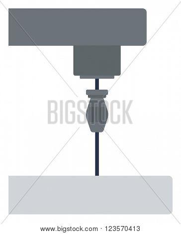 Industrial milling tool