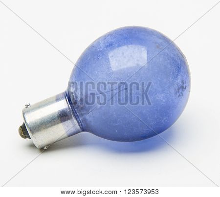 Blue Flash Bulb