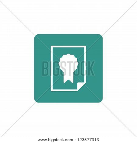 Charter Icon In Vector Format. Premium Quality Charter Icon. Web Graphic Charter Icon Sign On Green