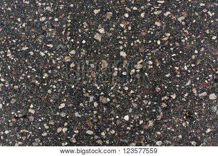 Old Gray Asphalt Surface.