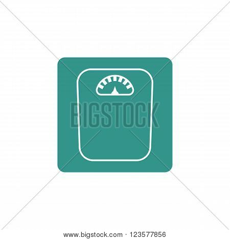 Libra Icon In Vector Format. Premium Quality Libra Icon. Web Graphic Libra Icon Sign On Green Backgr
