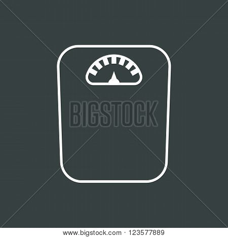 Libra Icon In Vector Format. Premium Quality Libra Icon. Web Graphic Libra Icon Sign On Dark Backgro