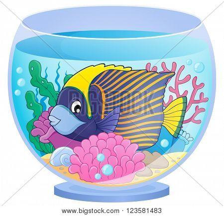 Aquarium topic image 1 - eps10 vector illustration.
