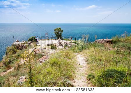 Viewpoint On The Tip Of Kaliakra Headland