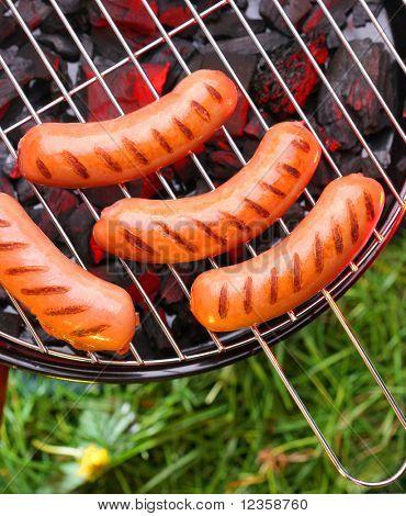Sausages on a lattice