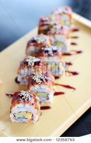 Sushi; japanese