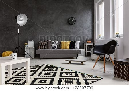 Living Room For Person With Passion
