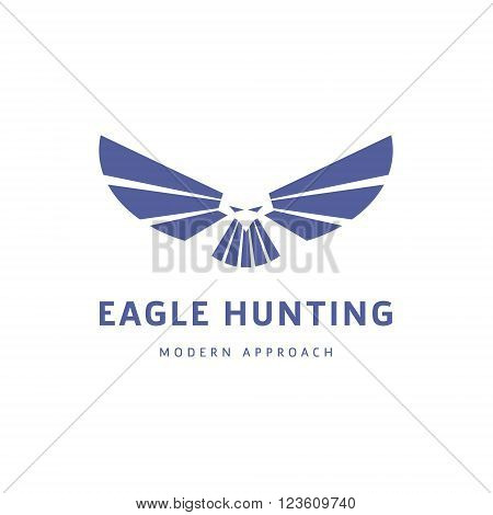 Wingspan Birds in Eagle, quality Modern Design sign illustration art