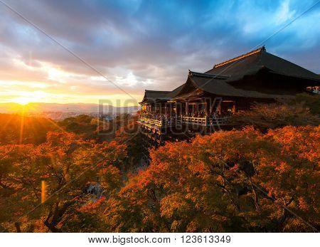 Kyoto Kiyomizu-dera Temple Japan