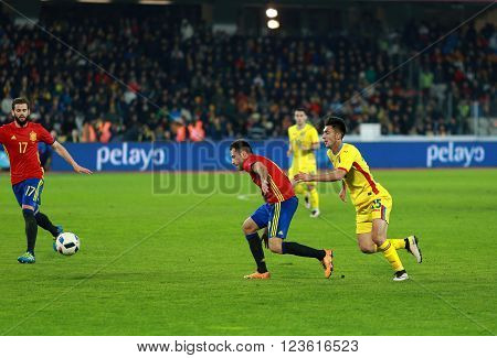 Romania Vs Spain Match Before Euro 2016