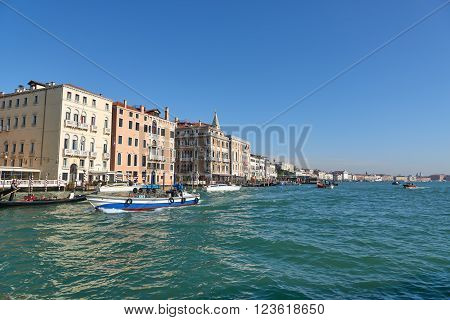 Landscape Of Grand Canal