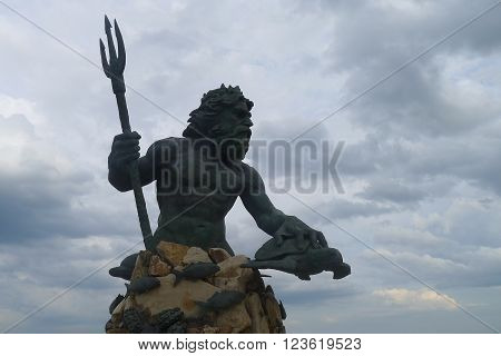 The King Neptune of Virginia Beach, Virginia