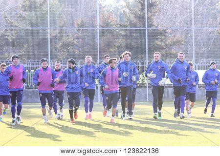 Ukraine - Wales: Pre-match Training Session In Kyiv, Ukraine