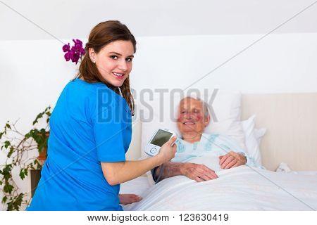 Home Care - Blood Pressure Measuring
