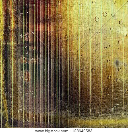 Abstract colorful background or backdrop with grunge texture and different color patterns: yellow (beige); brown; green; red (orange); black