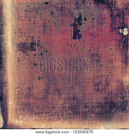 Abstract dirty texture or background. With different color patterns: brown; red (orange); purple (violet); black; pink
