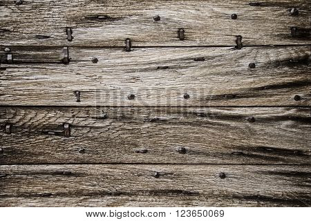 horizontal old barn door wood background texture