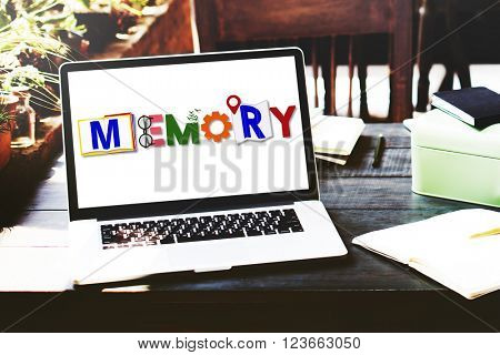 Memory Remember Mind Database Concept