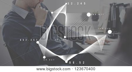 Geometric Graphic Mathematics Education Concept