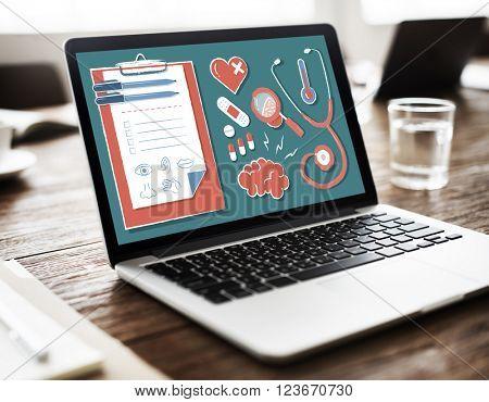 Diagnose Doctor Medicine Health Wellness Concept