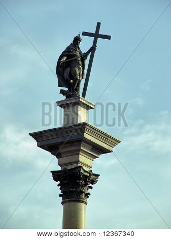 Column of king Zygmunt III