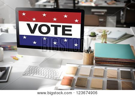 Vote Voting Election Politics Decision Democracy Concept