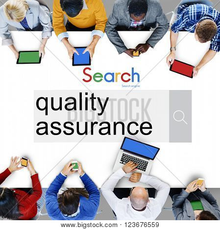 Quality Assurance Development Satisfaction Customer Concept