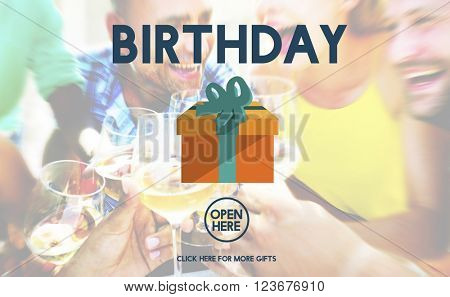 Birthday Anniversary Celebration Event Greeting Concept