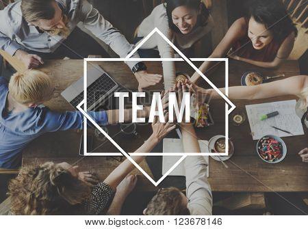 Team Alliance Association Company Cooperation Concept