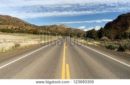 Oregon Route 26 Ochoco Highway High Desert Landscape US Travel