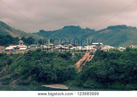 House, Quang Nam Village, Ho Chi Minh Trail,