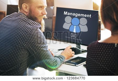 Business Coaching Controlling Coordination Concept