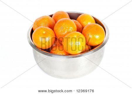 Bowl With Mandarin