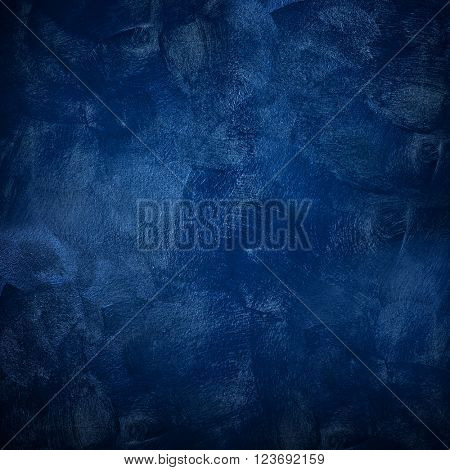 texture of blue paint background