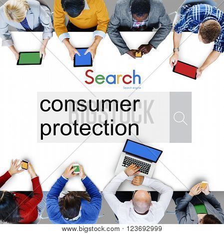 Consumer Protection Legal Rights Regulations Concept