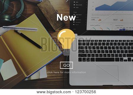 New Development Latest Modern Innovation Concept