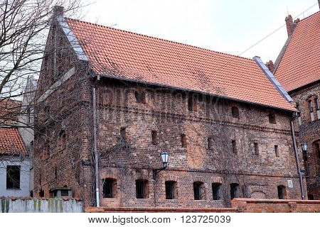 Old Brick Building City