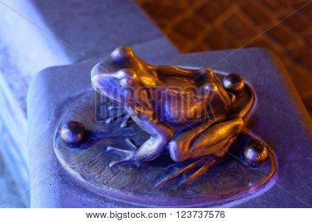 Frog Figurine, Garden