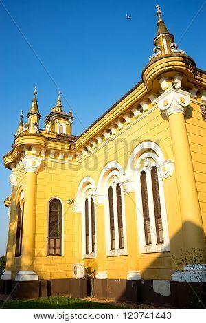 Yellow Building Saint Joseph