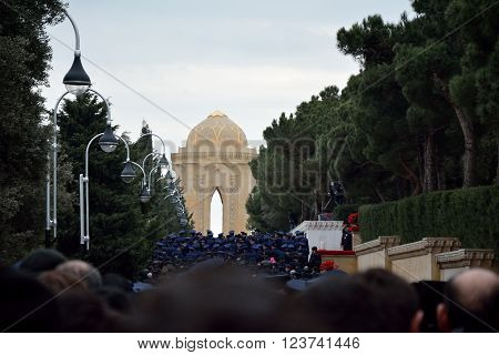 BAKU, AZERBAIJAN - JANUARY 20 2014 