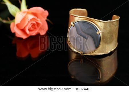 Bracelet And Rose