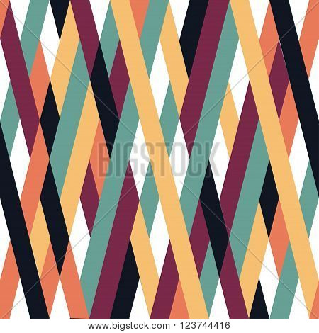 Abstract Background Of Weavings.