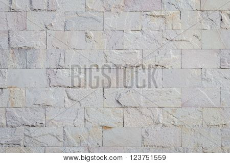 Pattern red sandstone wall texture and background