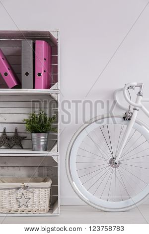 Bike As A Home Decoration