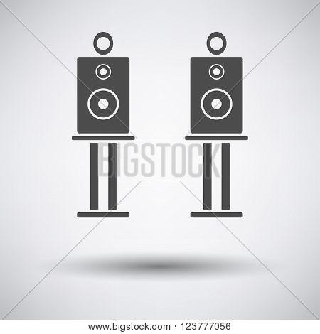 Audio System Speakers Icon