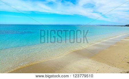 Fiume Santo shoreline and turquoise sea in Stintino