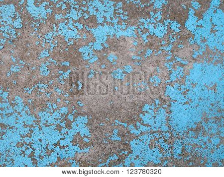 Old cracked paint on the concrete wall. Grunge concrete texture. Grunge stucco background. Retro texture. Vintage texture. Distress Texture. Scratched wall pattern